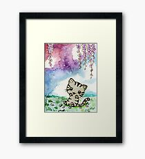 Chibi Nala Kitty Framed Print
