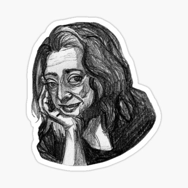 Zaha Hadid Sticker