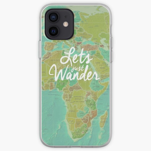 Let's Just Wander iPhone Soft Case