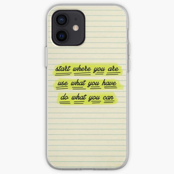 Start Where You Are iPhone Soft Case