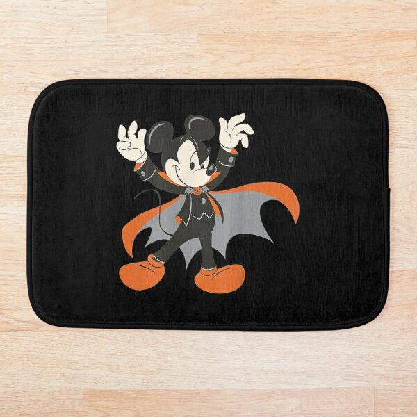 Halloween Mickey Mouse Magic Art Dedicate Gift for Special Friends Bath Mat