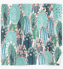 beautiful cactus Poster
