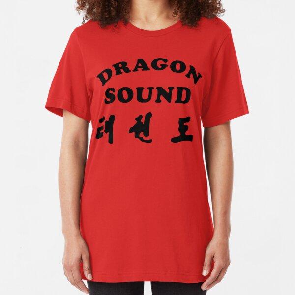 Dragon Sound - Miami Connection's newest house band! Slim Fit T-Shirt
