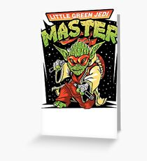 Ooze The Force Greeting Card