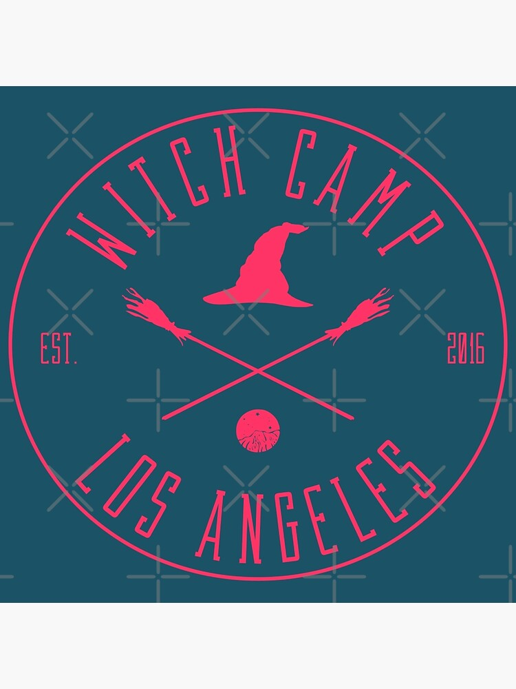 Witch Camp Los Angeles (pink) by siyi