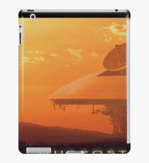 Outpost sci fi concept art iPad Case/Skin