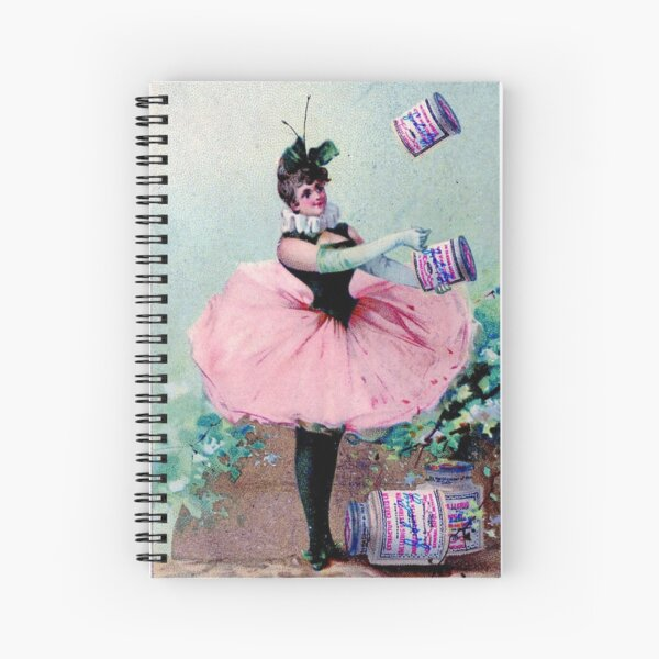 Meat Extract Fairy Spiral Notebook