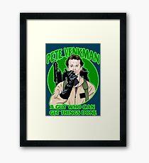Pete Venkman Framed Print