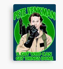 Pete Venkman Canvas Print