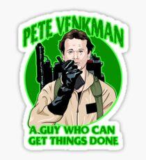 Pete Venkman Sticker