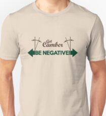 BE NEGATIVE (2) Slim Fit T-Shirt