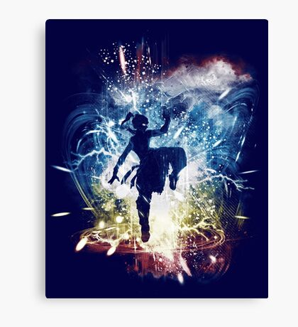 elemental storm 2 Canvas Print