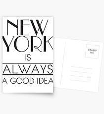 Postales Nueva York SIEMPRE es una buena idea
