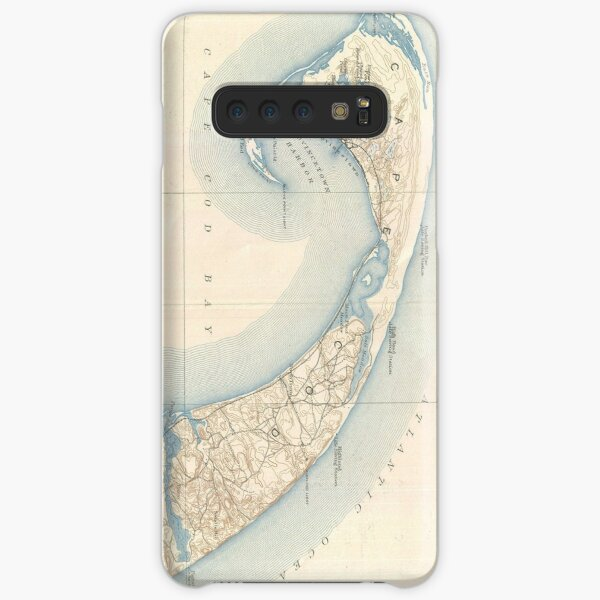 Vintage Map of Lower Cape Cod Samsung Galaxy Snap Case