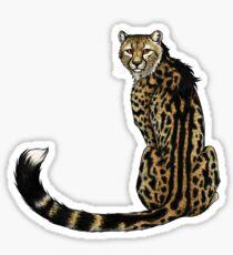 Königsgepard Sticker