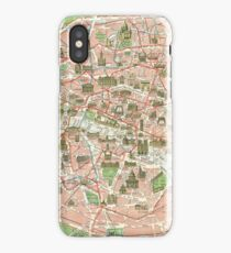 Vintage Map of Paris (1920)  iPhone Case/Skin