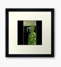 Through Magritte Framed Print