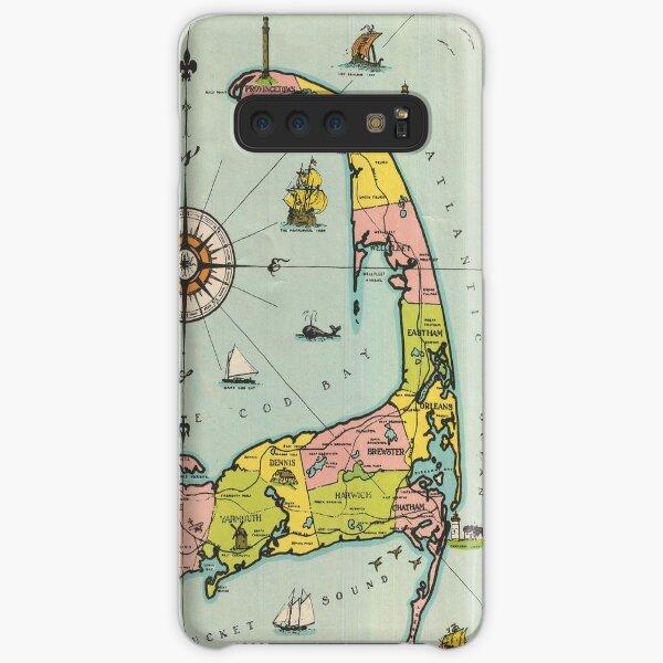 Vintage Map of Cape Cod Samsung Galaxy Snap Case