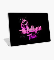 The BubbleGum Train Laptop Skin