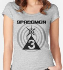 Spacemen 3 - Spiral Women's Fitted Scoop T-Shirt