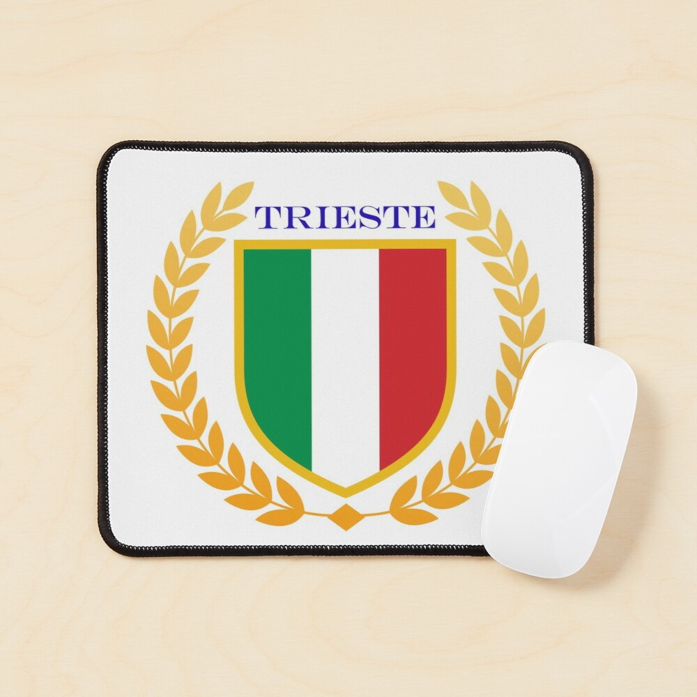 Trieste Italy Mouse Pad