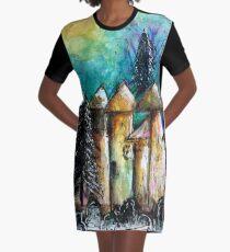 Fairy Homes - winter dwellings Graphic T-Shirt Dress