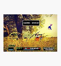 Duck Hunt pixel art Photographic Print
