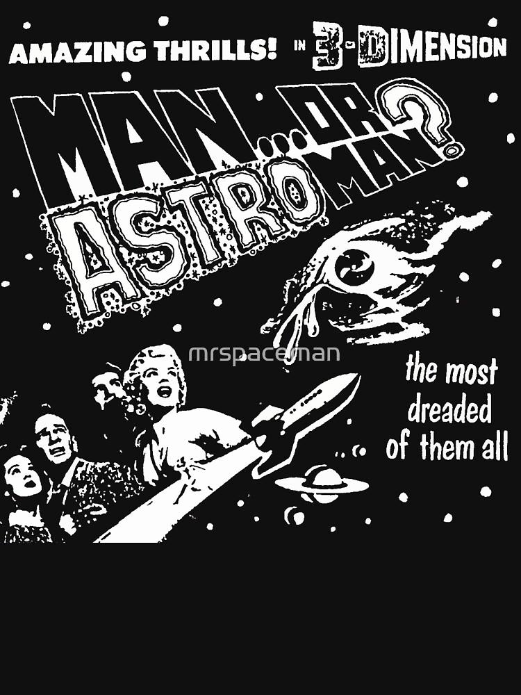 Man Or Astroman? - 3D   Unisex T-Shirt