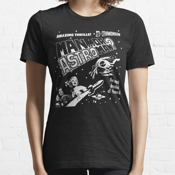 Man Or Astroman? - 3D Essential T-Shirt
