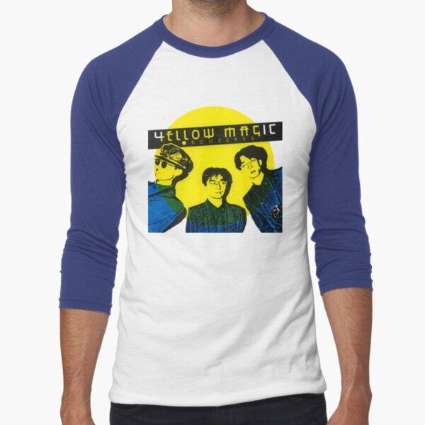 Yellow Magic Orchestra Baseball ¾ Sleeve T-Shirt