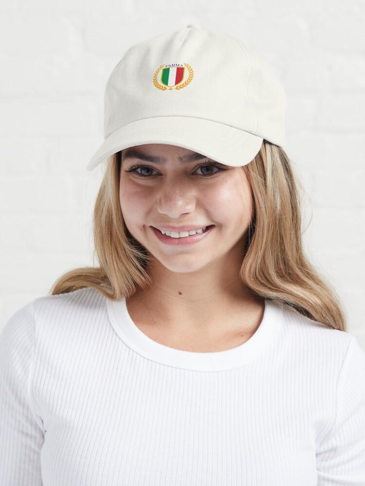 Alternate view of Parma Italy Cap