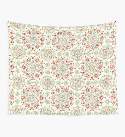 Flower Crown Carnival Wall Tapestry