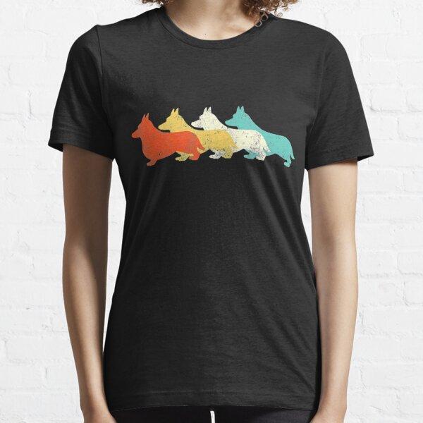 Vintage Corgi Retro For Corgi Men Women Kids Essential T-Shirt