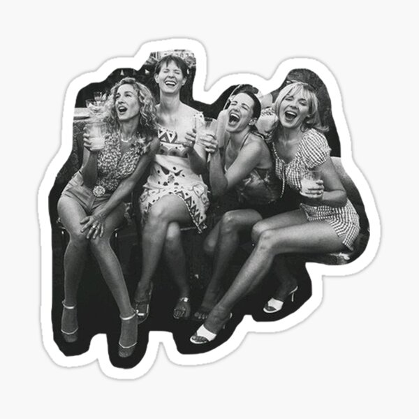 Sex and the City Soul Mates Sticker