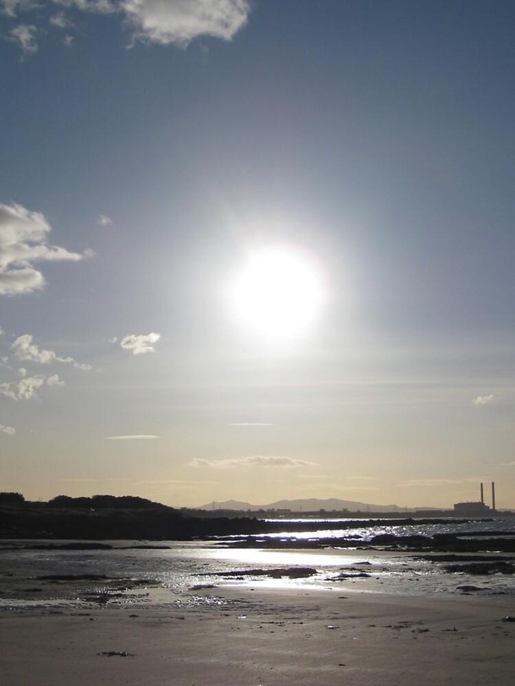Longniddry Beach by nicolamacd