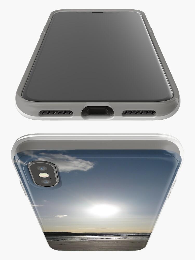 Alternate view of Longniddry Beach iPhone Case & Cover