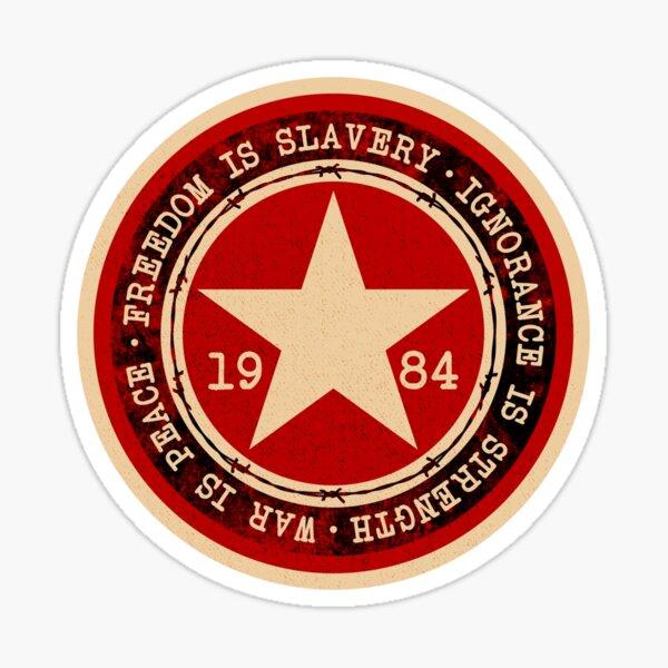 1984 (RED) Sticker