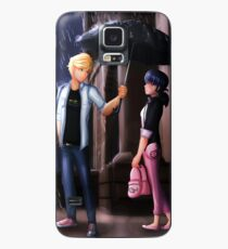 Miraculous Ladybug: The Umbrella Scene Case/Skin for Samsung Galaxy