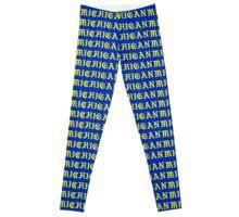 MICHIGAN Blue  Leggings