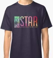 Blue Watercolor S.T.A.R. Laboratories Classic T-Shirt