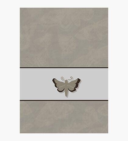 Moth VRS2 Photographic Print