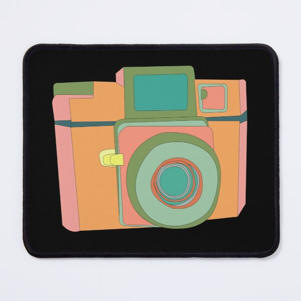 Vintage Classic Camera Mouse Pad