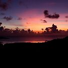 Sokehs Sunset - Pohnpei, Micronesia by Alex Zuccarelli