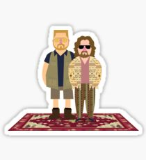Jeffrey & Walter Sticker
