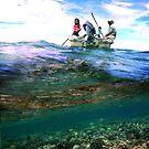 Mwand Passage - Pohnpei, Micronesia  by Alex Zuccarelli