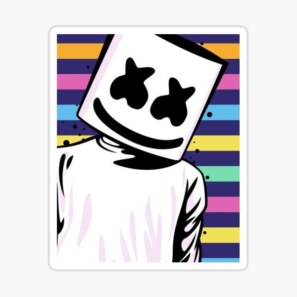 Marshmello Fan Art Sticker