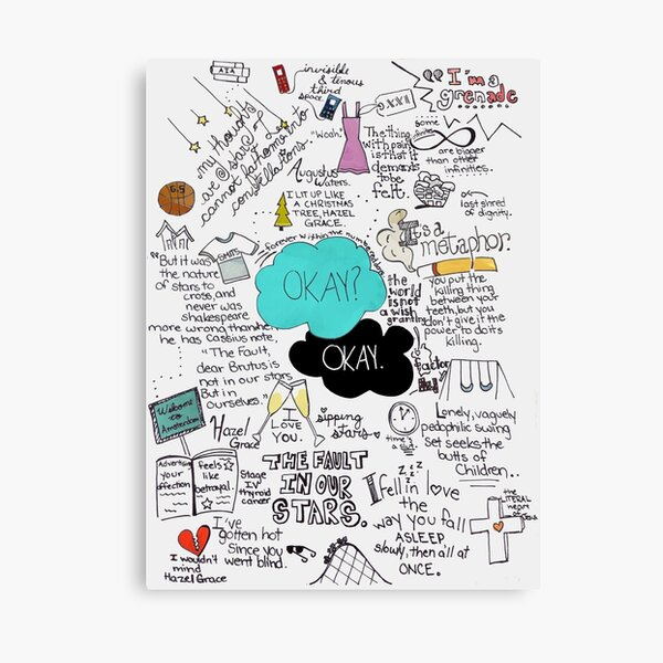 The Fault in Our Stars - ORIGINAL ARTIST Canvas Print