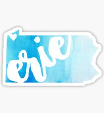 Erie Sticker