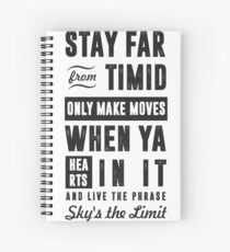 SKY'S THE LIMIT Spiral Notebook
