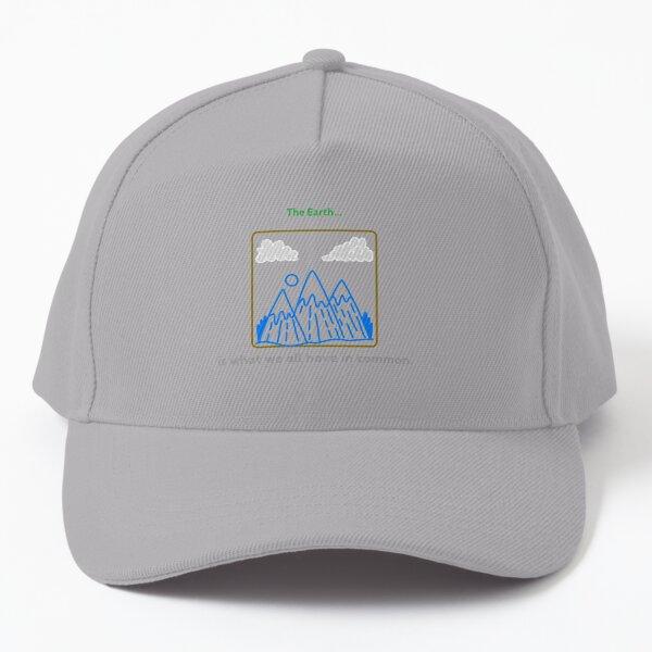 Environmentally Friendly Baseball Cap